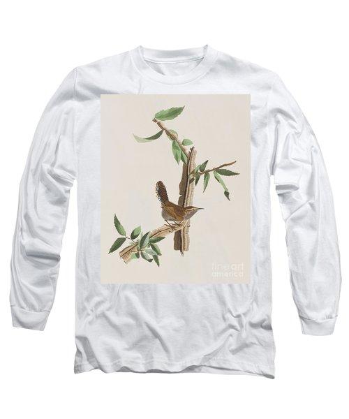 Wren Long Sleeve T-Shirt by John James Audubon