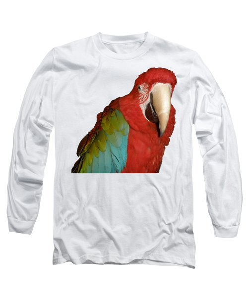 Zazu Long Sleeve T-Shirt by Zazu's House Parrot Sanctuary