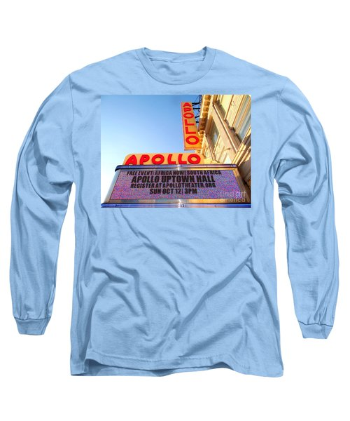 At The Apollo Long Sleeve T-Shirt by Ed Weidman