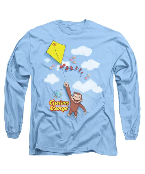 Curious George - Flight Long Sleeve T-Shirt by Brand A