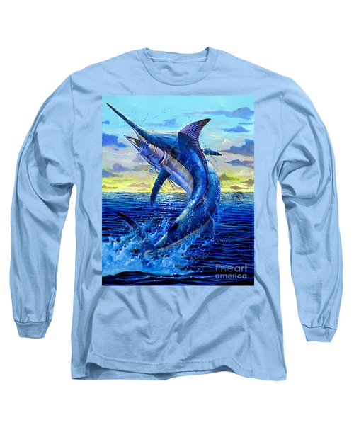 Grander Off007 Long Sleeve T-Shirt by Carey Chen