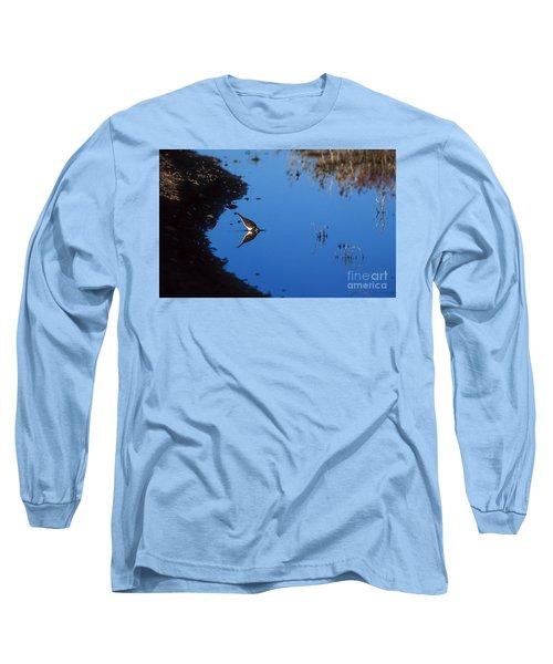 Killdeer Long Sleeve T-Shirt by Steven Ralser