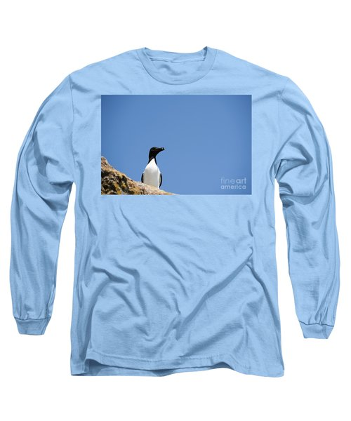 Look At Me Long Sleeve T-Shirt by Anne Gilbert