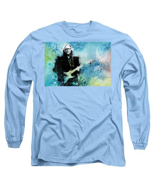 Tears In Heaven 3 Long Sleeve T-Shirt by Bekim Art