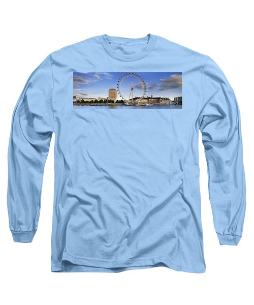 The London Eye Long Sleeve T-Shirt by Rod McLean