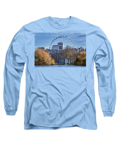 Eyeing The View Long Sleeve T-Shirt by Joan Carroll