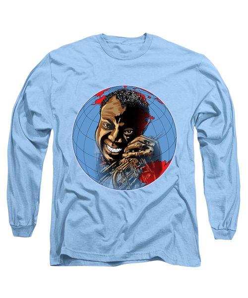 Louis. Long Sleeve T-Shirt by Andrzej Szczerski