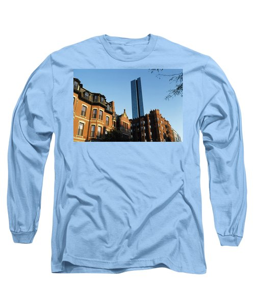 Buildings In A City, Boston, Suffolk Long Sleeve T-Shirt by Panoramic Images