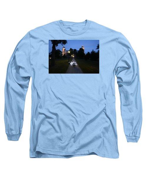 University Of Arkansas Long Sleeve T-Shirt by Chris  Look