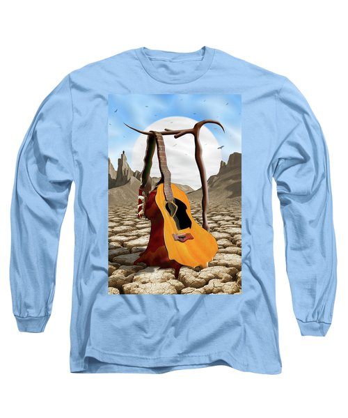An Acoustic Nightmare Long Sleeve T-Shirt by Mike McGlothlen