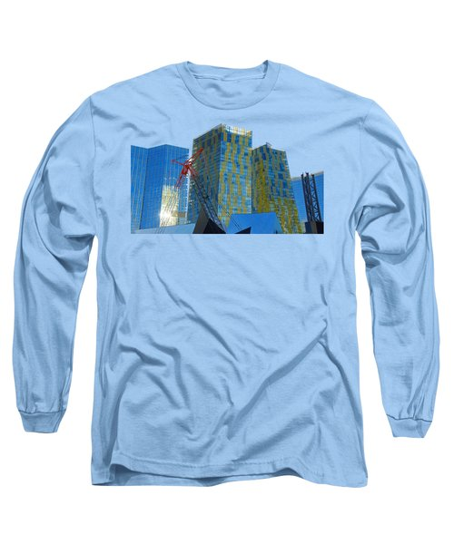 Under Construction Long Sleeve T-Shirt by Debbie Oppermann