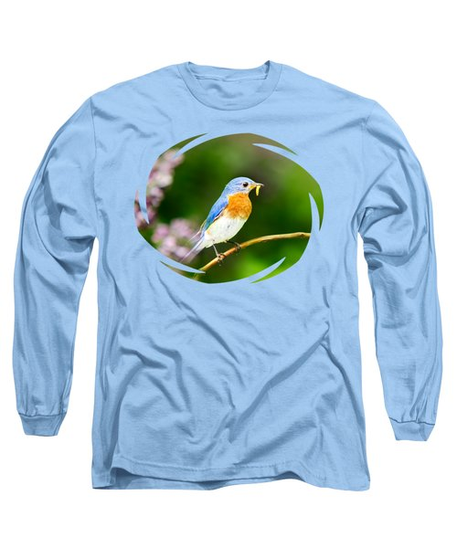 Bluebird Long Sleeve T-Shirt by Christina Rollo