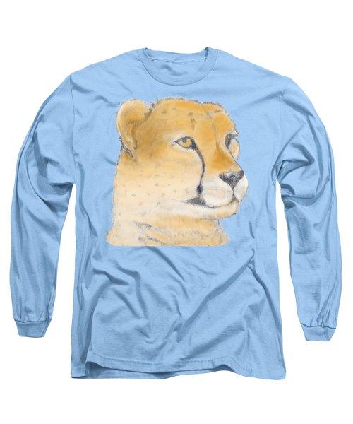 Cheetah 3 Long Sleeve T-Shirt by Gilbert Pennison