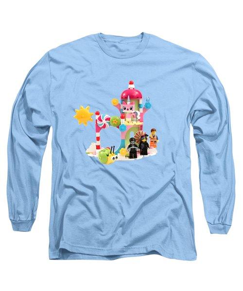Cloud Cuckoo Land Long Sleeve T-Shirt by Snappy Brick Photos