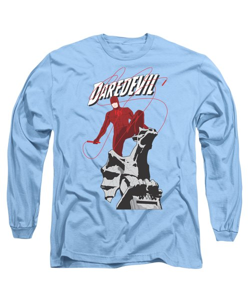 Daredevil Long Sleeve T-Shirt by Troy Arthur Graphics