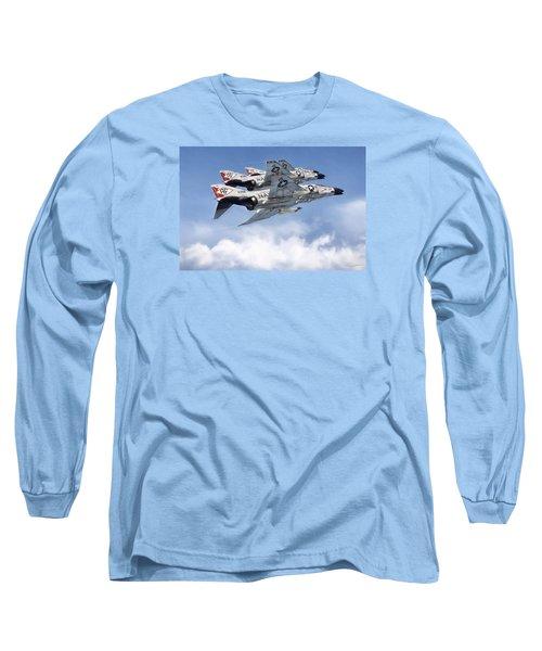 Diamonback Echelon Long Sleeve T-Shirt by Peter Chilelli
