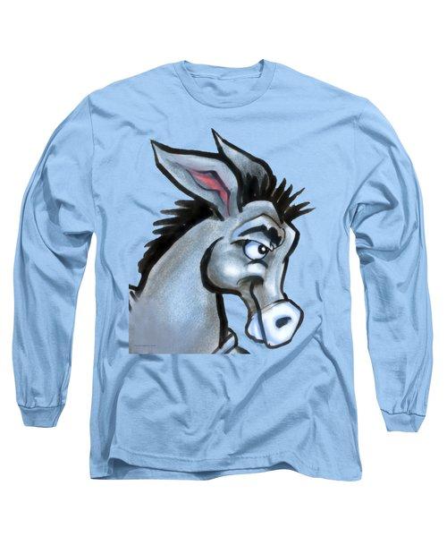 Donkey Long Sleeve T-Shirt by Kevin Middleton