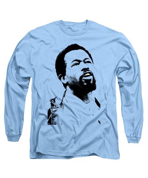 Eldridge Cleaver Long Sleeve T-Shirt by Otis Porritt