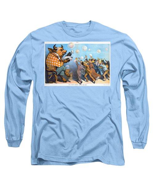 John Pierpont Morgan Long Sleeve T-Shirt by Granger