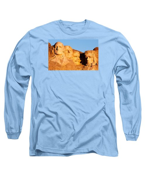 Mount Rushmore Long Sleeve T-Shirt by Todd Klassy