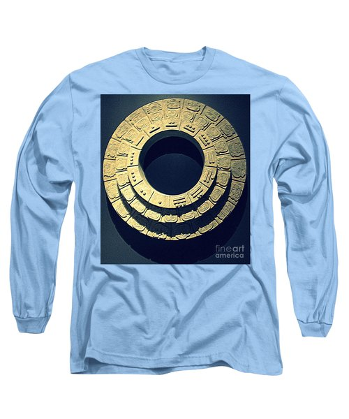 National Museum Of The American Indian 10 Long Sleeve T-Shirt by Randall Weidner