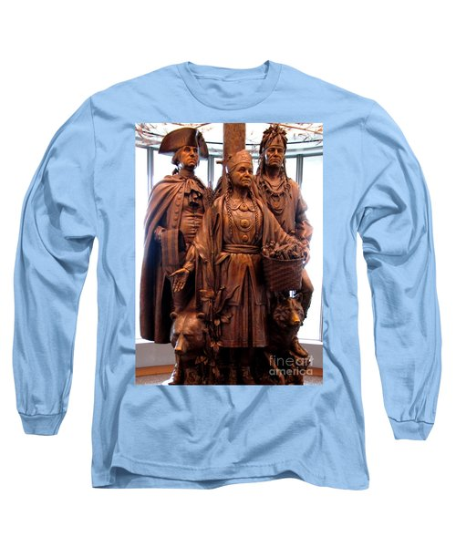 National Museum Of The American Indian 8 Long Sleeve T-Shirt by Randall Weidner