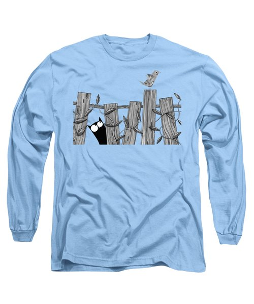 Paper Bird Long Sleeve T-Shirt by Andrew Hitchen