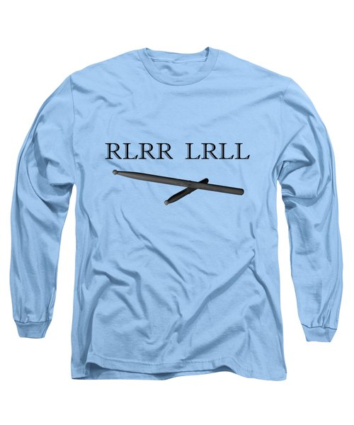 Rlrr Lrll Long Sleeve T-Shirt by M K  Miller