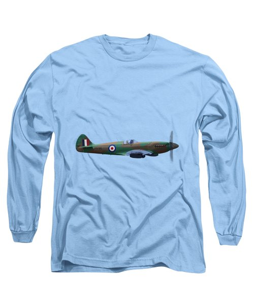 Spitfire Long Sleeve T-Shirt by Rob Lester Wirral