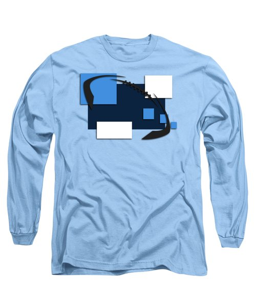 Tennessee Titans Abstract Shirt Long Sleeve T-Shirt by Joe Hamilton