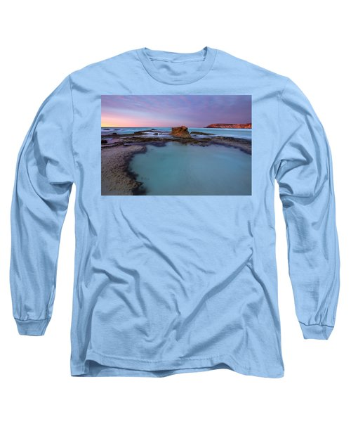 Tidepool Dawn Long Sleeve T-Shirt by Mike  Dawson