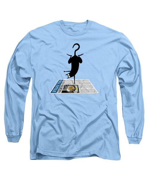 Yoga Mat Long Sleeve T-Shirt by Andrew Hitchen