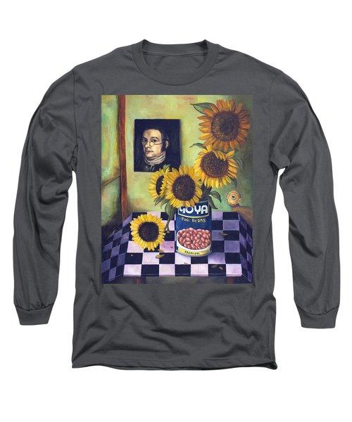 Goyas Long Sleeve T-Shirt by Leah Saulnier The Painting Maniac