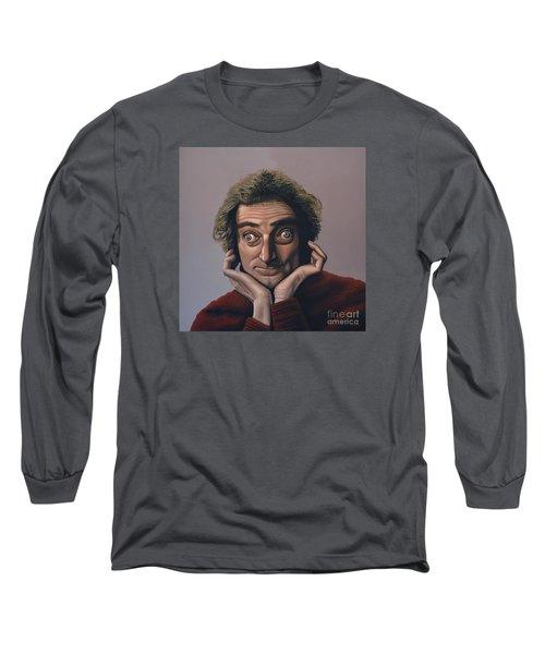 Marty Feldman Long Sleeve T-Shirt by Paul Meijering