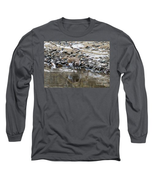 Mirror Mirror Long Sleeve T-Shirt by Mike Dawson