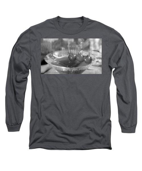 Shirley Temple Drink Long Sleeve T-Shirt by Iris Richardson