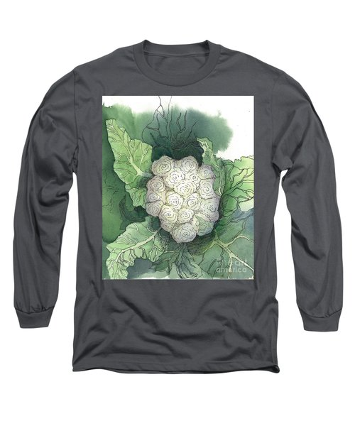 Baby Cauliflower Long Sleeve T-Shirt by Maria Hunt