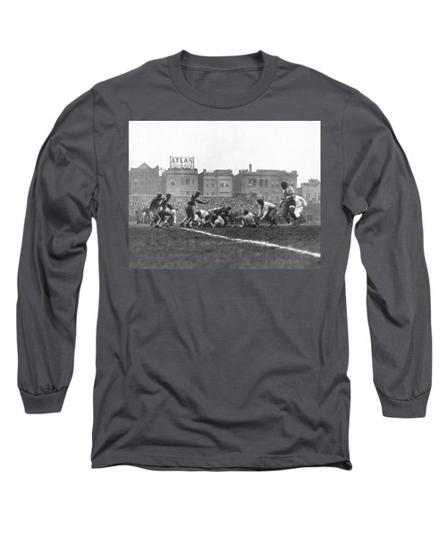 Bears Are 1933 Nfl Champions Long Sleeve T-Shirt by Underwood Archives