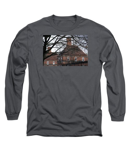The British Ambassador's Residence Behind Trees Long Sleeve T-Shirt by Cora Wandel