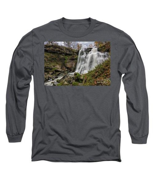 Brandywine Falls Long Sleeve T-Shirt by James Dean