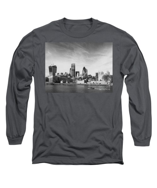 City Of London  Long Sleeve T-Shirt by Pixel Chimp