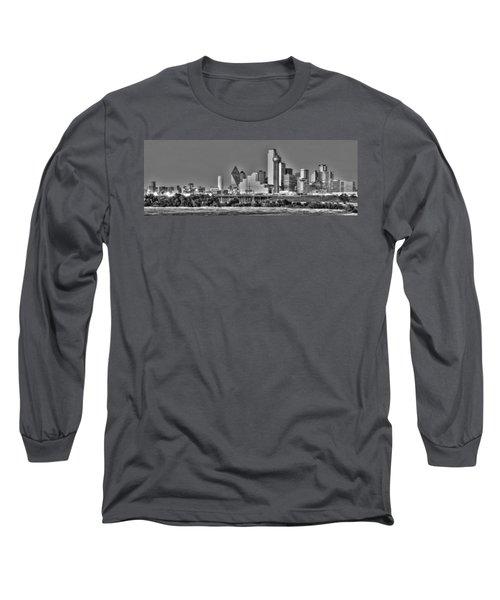 Dallas The New Gotham City  Long Sleeve T-Shirt by Jonathan Davison