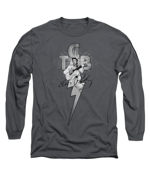 Elvis - Tcb Ornate Long Sleeve T-Shirt by Brand A