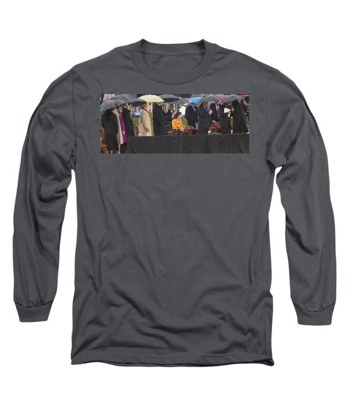 Former Us President Bill Clinton Long Sleeve T-Shirt by Panoramic Images