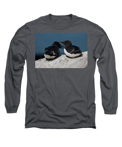 Gossip Mongers Long Sleeve T-Shirt by Brent L Ander
