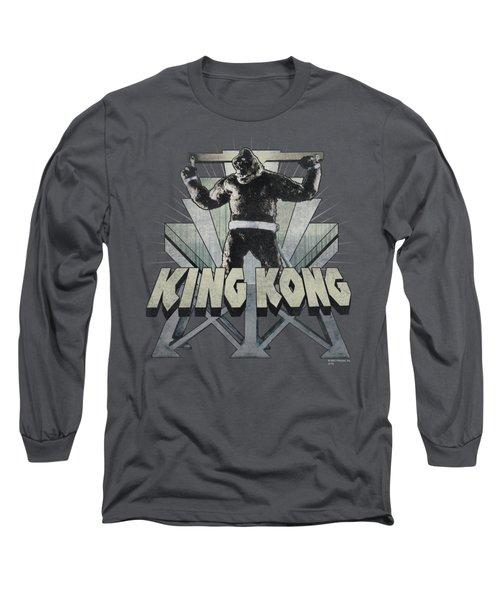 King Kong - 8th Wonder Long Sleeve T-Shirt by Brand A