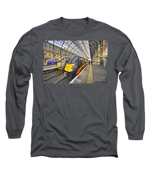 Kings Cross Variety  Long Sleeve T-Shirt by Rob Hawkins