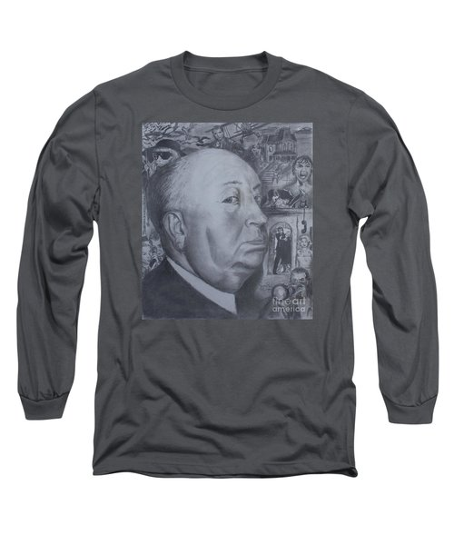Master Of Suspense Long Sleeve T-Shirt by Jeremy Reed