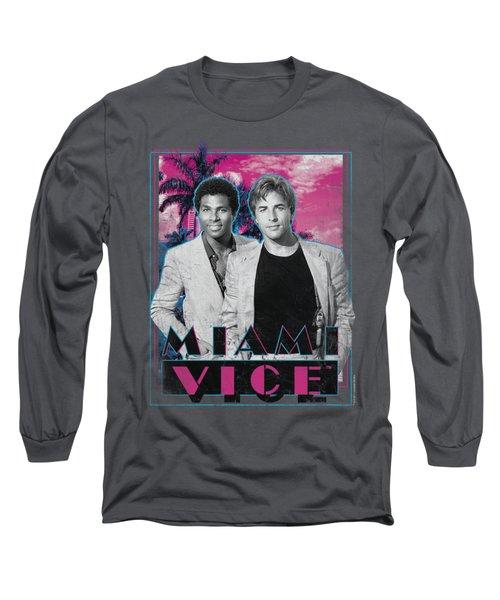 Miami Vice - Gotchya Long Sleeve T-Shirt by Brand A