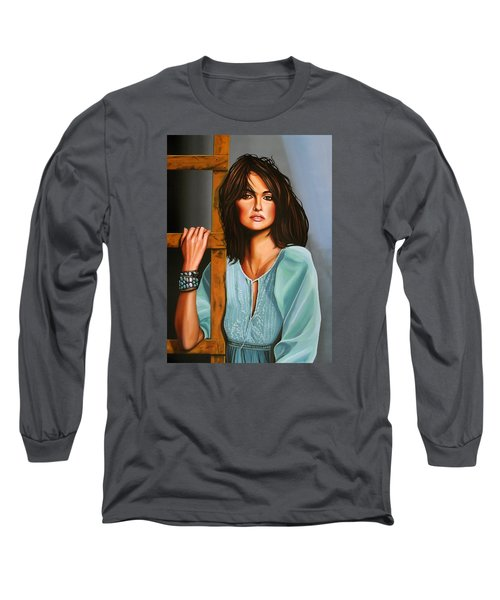 Penelope Cruz Long Sleeve T-Shirt by Paul Meijering